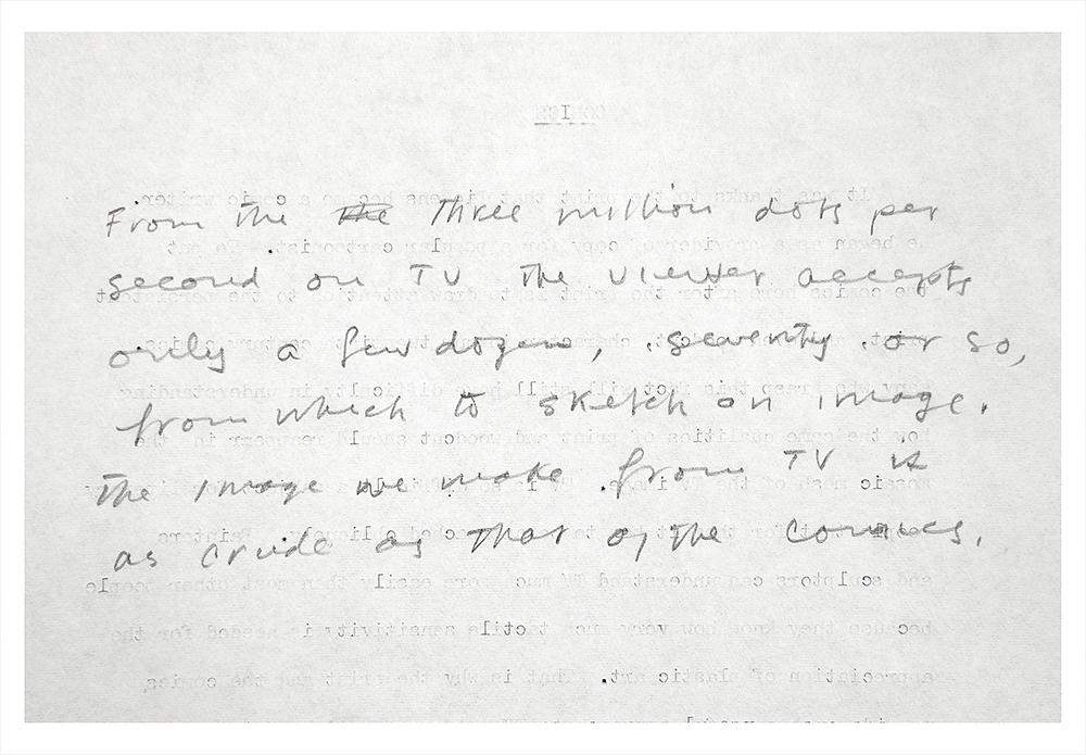Robert Bean, Marshall McLuhan