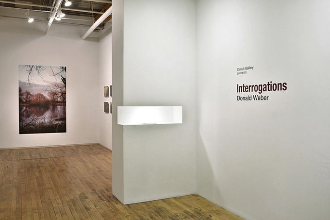 Donald Weber Interrogations exhibition