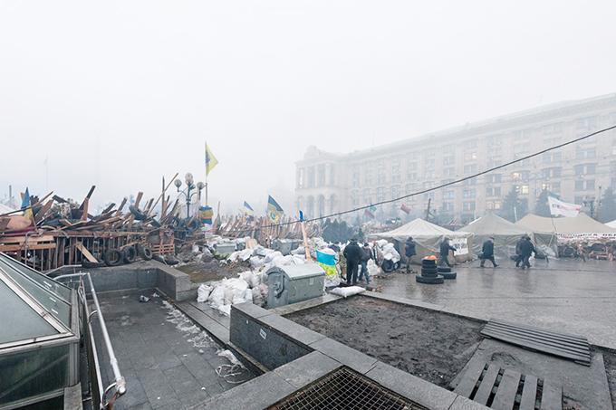Donald Weber Barricade Maidan