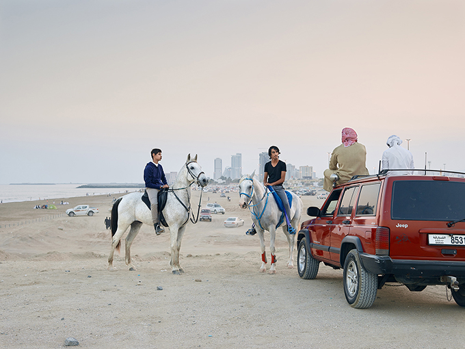 "Philip Cheung, ""Friday, Fujairah,"" 2014, from 'The Edge'"