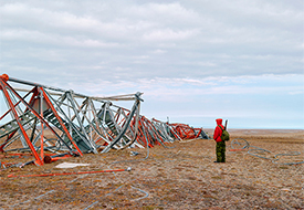"Philip Cheung, ""Deactivated DEW Line Site, King William Island"","